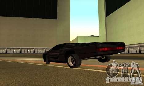 Dodge M4S Turbo Interceptor Wraith 1984 для GTA San Andreas вид справа