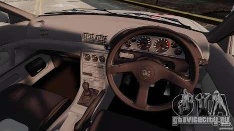 Nissan Skyline GT-R (BNR32) для GTA 4 вид сзади