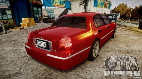 Lincoln Town Car 2003 для GTA 4 вид сбоку