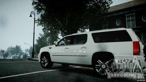 Cadillac Escalade ESV для GTA 4 вид справа