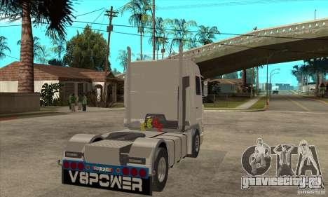 Scania 143M 500 V8 для GTA San Andreas вид справа