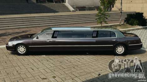 Lincoln Town Car Limousine 2006 для GTA 4 вид слева