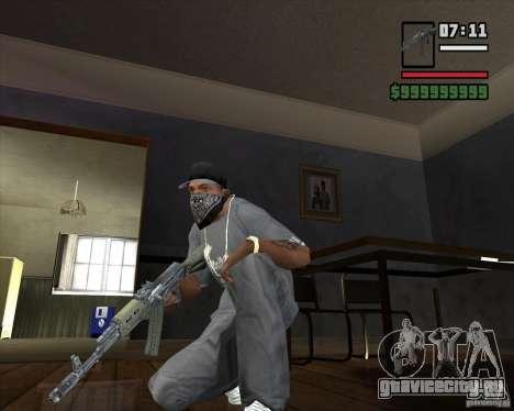 AKM HD для GTA San Andreas второй скриншот