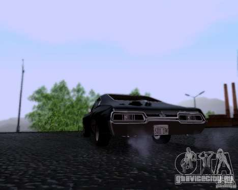 Super Natural ENBSeries для GTA San Andreas