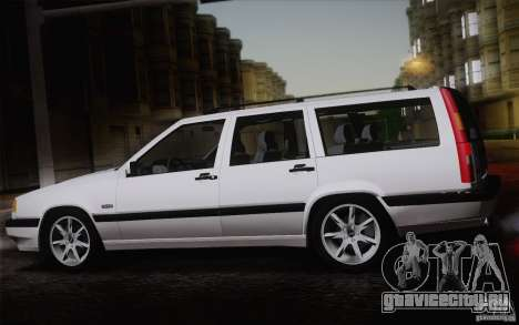 Volvo 850 Estate Turbo 1994 для GTA San Andreas вид справа