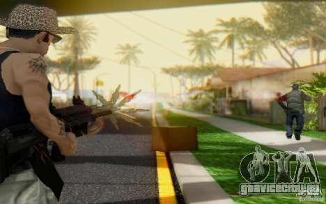 Saiga 12c из Warface для GTA San Andreas второй скриншот