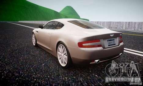 Aston Martin DB9 2005 V 1.5 для GTA 4 вид сзади слева
