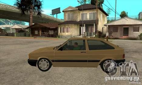 VW Gol GL 1.8 1989 для GTA San Andreas вид слева