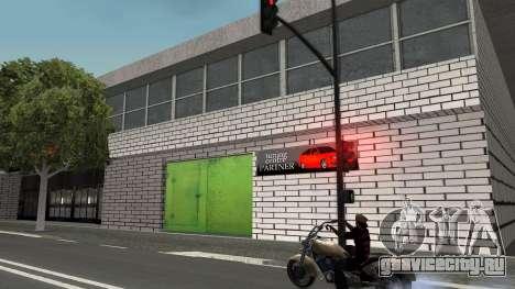 Текстура гаражей и зданий в SF для GTA San Andreas четвёртый скриншот