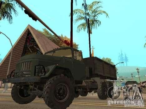 ЗиЛ 131 Самосвал для GTA San Andreas салон