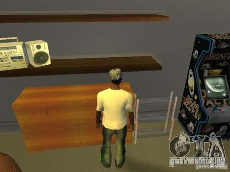 Футболка с Бобом Марли для GTA San Andreas второй скриншот