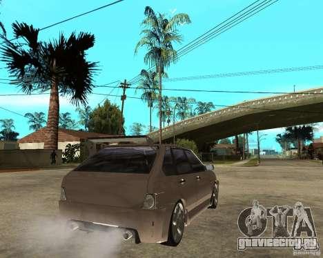 Ваз 21093 LiquiMoly для GTA San Andreas вид сзади слева
