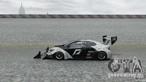 Toyota Team NFS AWD Scion tC для GTA 4 вид слева