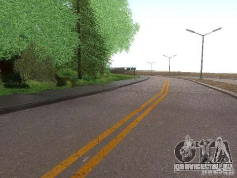 Modification Of The Road для GTA San Andreas