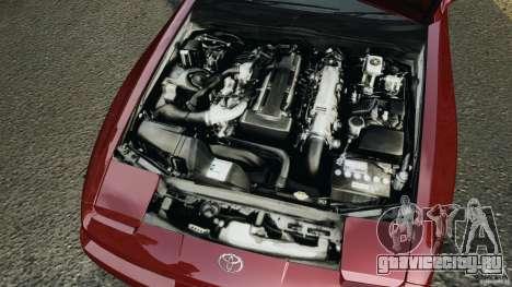 Toyota Supra 3.0 Turbo MK3 1992 v1.0 [EPM] для GTA 4 вид сверху