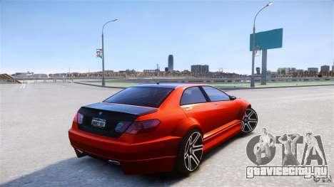 Schafter2 Sedan для GTA 4 вид сзади слева
