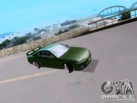 Nissan Silvia S15 drift для GTA San Andreas вид слева