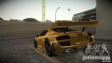 Audi R8 LMS для GTA San Andreas вид слева