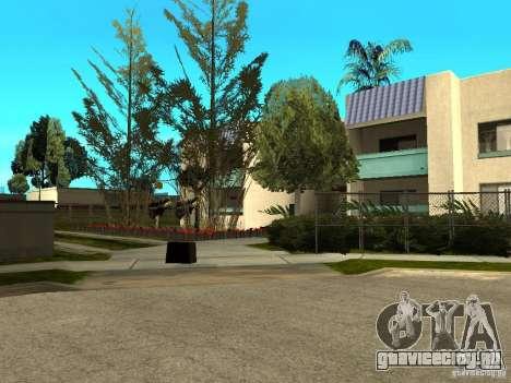 New Grove Street TADO edition для GTA San Andreas десятый скриншот