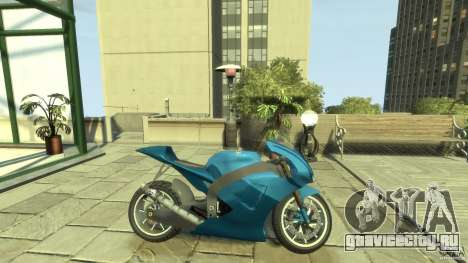 Yamaha YZR M1 Street Version для GTA 4 вид слева