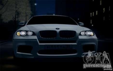 BMW X6M E71 для GTA San Andreas вид справа