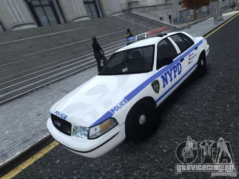 Ford Crown Victoria NYPD 2012 для GTA 4