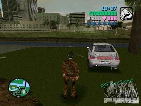 ВАЗ 2112 для GTA Vice City вид слева