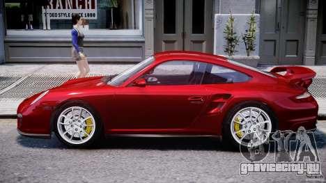 Posrche 911 GT2 для GTA 4 вид сзади слева