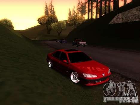 Peugeot 406 для GTA San Andreas вид слева