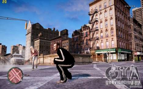 Костюм Adidas для GTA 4 шестой скриншот