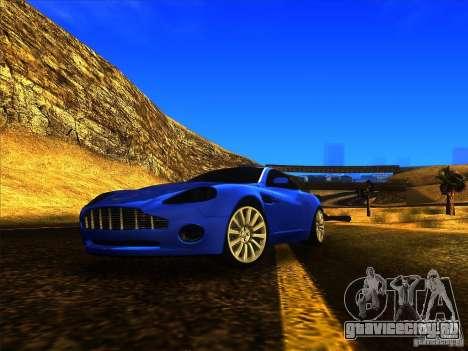 Aston Martin V12 Vanquish V1.0 для GTA San Andreas вид сзади