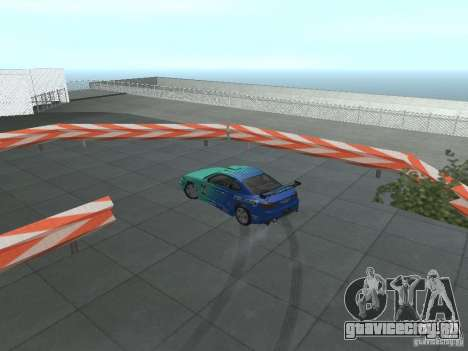 New Drift Track SF для GTA San Andreas восьмой скриншот