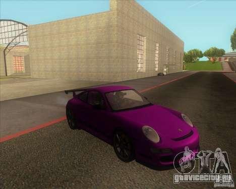 Porsche 997 GT3 RS для GTA San Andreas вид сзади слева