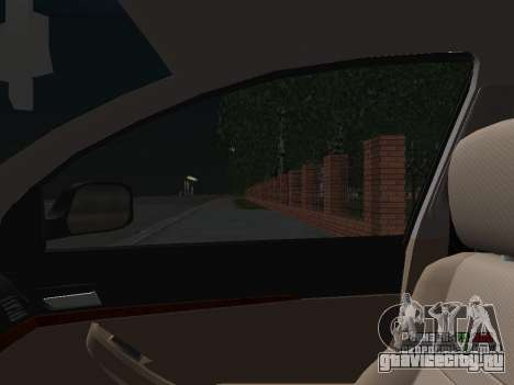 Toyota Avensis ДПС для GTA San Andreas вид снизу