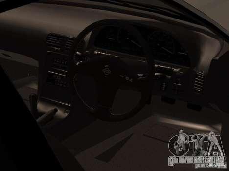 Nissan Silvia PS13 для GTA San Andreas вид сзади