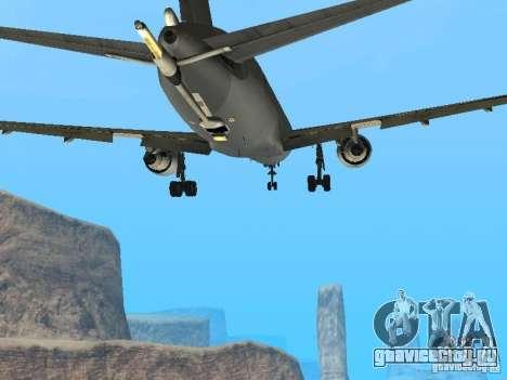 Boeing KC767 U.S Air Force для GTA San Andreas вид изнутри