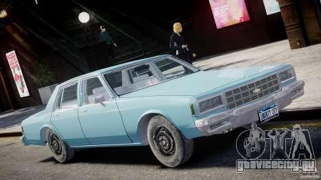 Chevrolet Impala 1983 [Final] для GTA 4