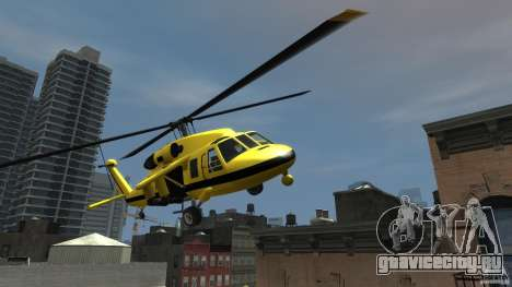 Yellow Annihilator для GTA 4 вид сзади