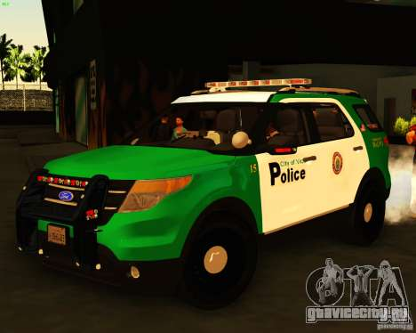 Ford Explorer 2011 VCPD Police для GTA San Andreas