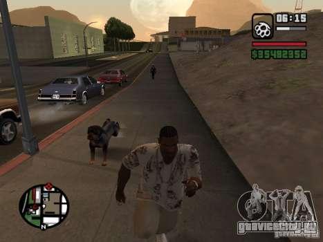 Ротвейлер для GTA San Andreas четвёртый скриншот