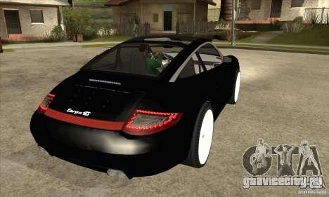 Porsche 911 Targa 4 для GTA San Andreas вид справа