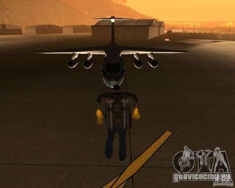 Ил-76 для GTA San Andreas вид сзади