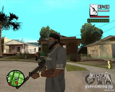 HQ M4A1 - DMG MK11 для GTA San Andreas второй скриншот