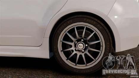 Subaru Impreza Cosworth STI CS400 2010 v1.2 для GTA 4 вид изнутри