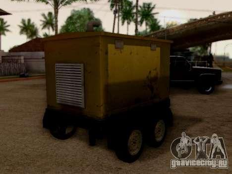 Trailer Generator для GTA San Andreas вид сзади слева
