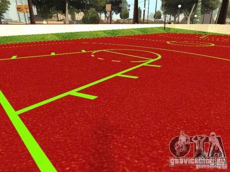 Баскетбольная Площадка для GTA San Andreas второй скриншот