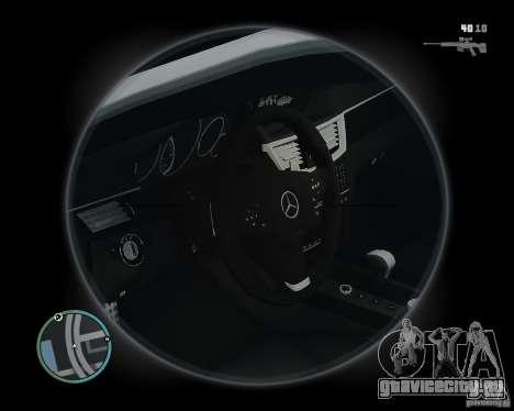 Mercedes Benz B63 S Brabus v1.0 для GTA 4 вид изнутри