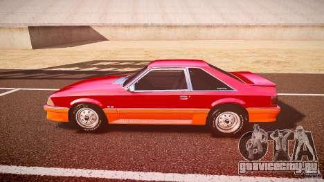 Ford Mustang GT 1993 Rims 2 для GTA 4 вид слева