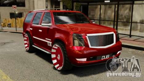 Cadillac Escalade 2011 DUB для GTA 4