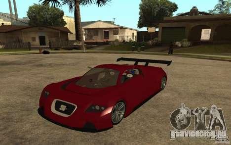 Seat Cupra GT для GTA San Andreas